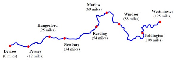 The Devizes to Westminster race is a 125 mile kayak and canoe race with 77 portages. Competitors either paddle straight through or take part in a four-day stage race.