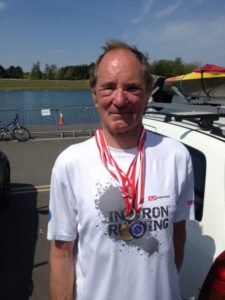 Brian with is medals